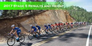 2017 Stage 5 Results and Recap