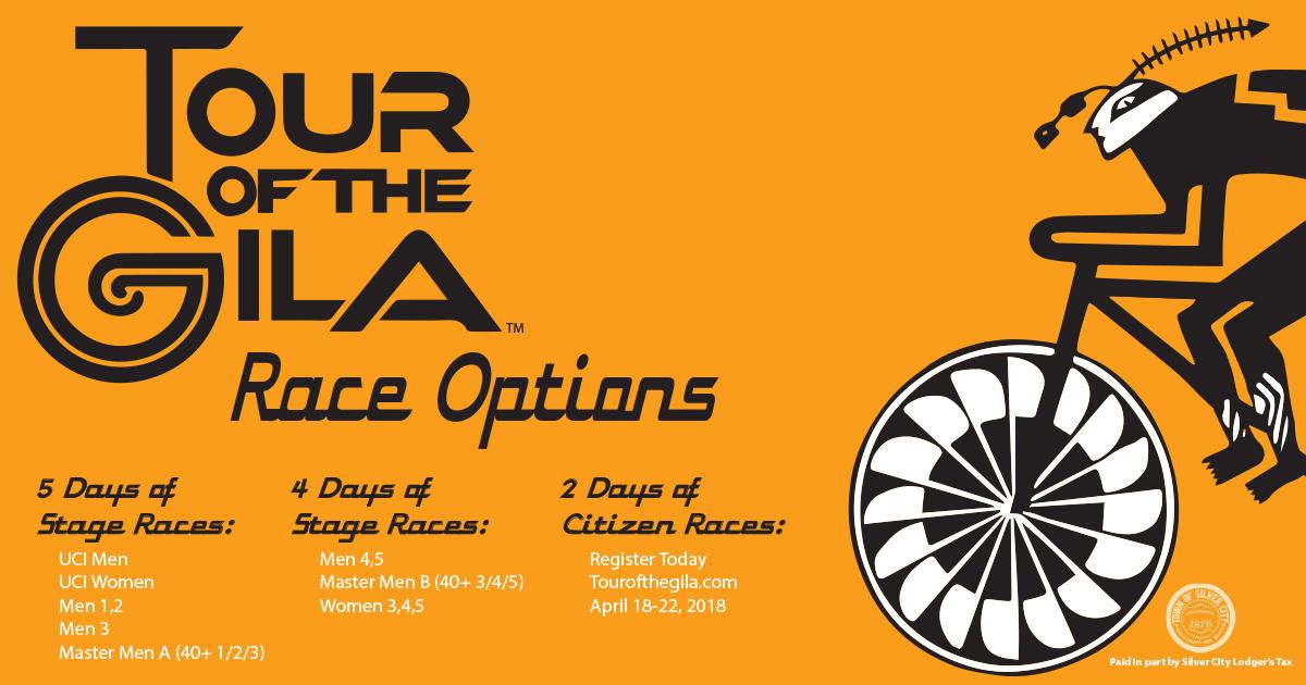 Tour of the Gila Race Options